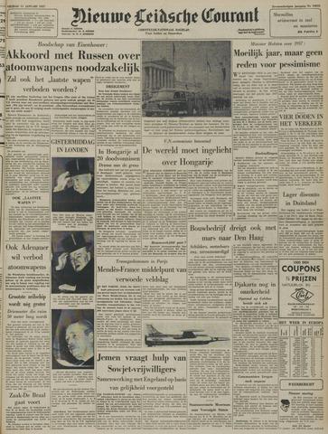 Nieuwe Leidsche Courant 1957-01-11
