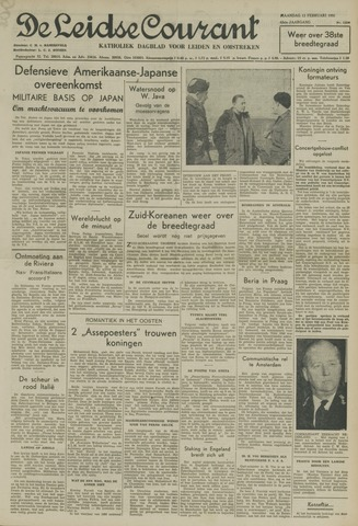 Leidse Courant 1951-02-12