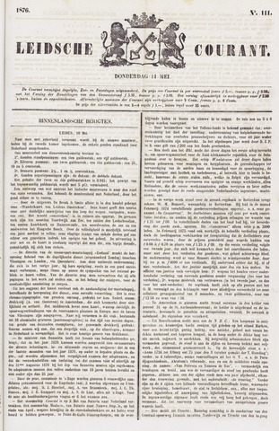 Leydse Courant 1876-05-11