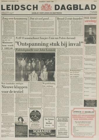 Leidsch Dagblad 1980-12-13
