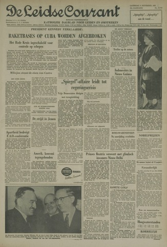Leidse Courant 1962-11-03