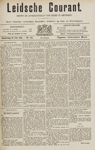 Leydse Courant 1885-07-23