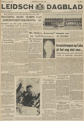 Leidsch Dagblad 1961-04-19