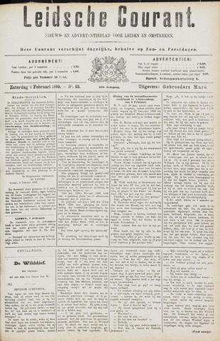 Leydse Courant 1890-02-08