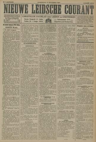 Nieuwe Leidsche Courant 1927-12-15