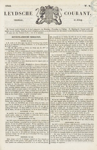 Leydse Courant 1844-07-19