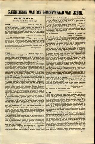Handelingen van de Raad 1875-10-18