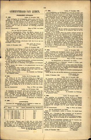 Handelingen van de Raad 1886-12-27