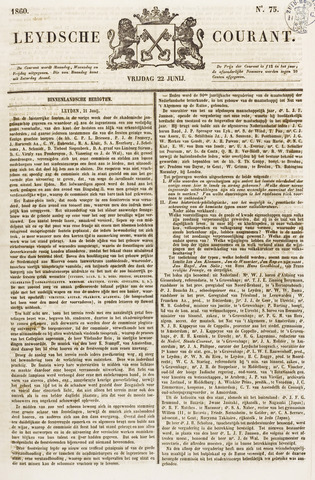 Leydse Courant 1860-06-22