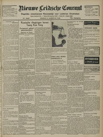 Nieuwe Leidsche Courant 1938-08-02