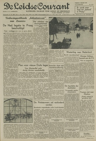 Leidse Courant 1950-03-03