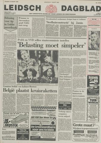 Leidsch Dagblad 1985-03-15