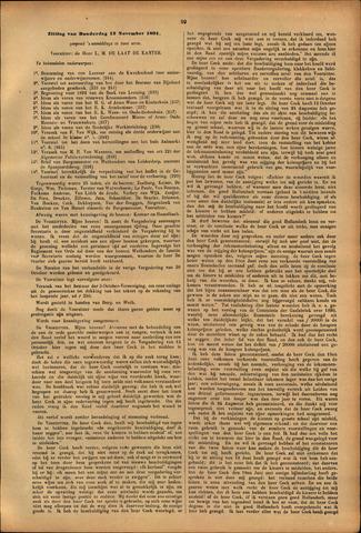 Handelingen van de Raad 1891-11-12