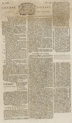 Leydse Courant 1820-09-01