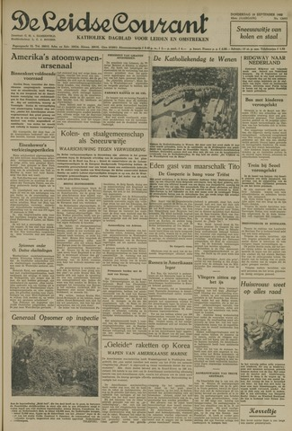 Leidse Courant 1952-09-18