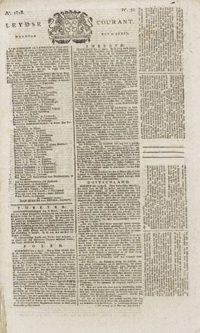 Leydse Courant 1818-04-27