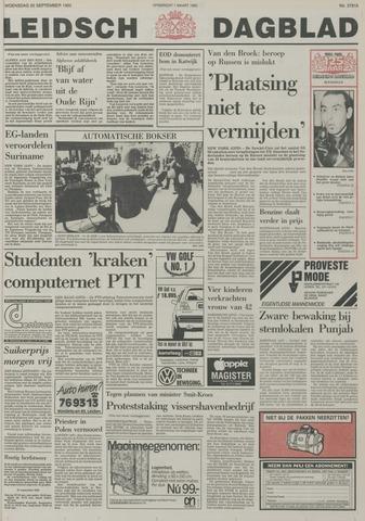 Leidsch Dagblad 1985-09-25