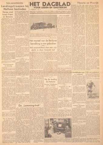 Dagblad voor Leiden en Omstreken 1944-01-24