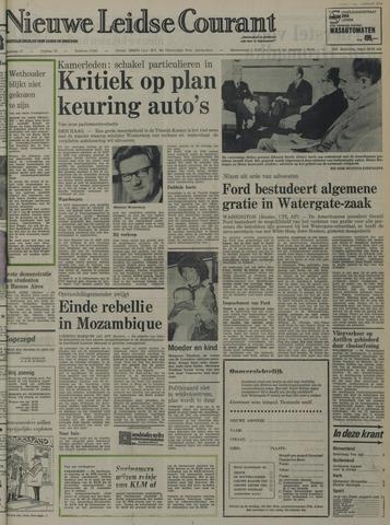 Nieuwe Leidsche Courant 1974-09-11