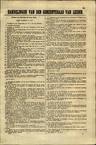 Handelingen van de Raad 1875-06-26
