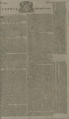 Leydse Courant 1745-11-22