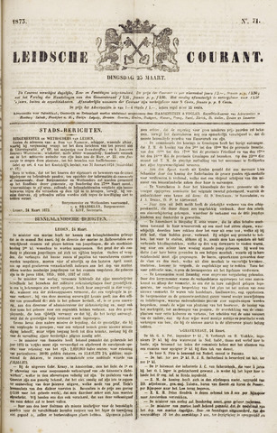 Leydse Courant 1873-03-25