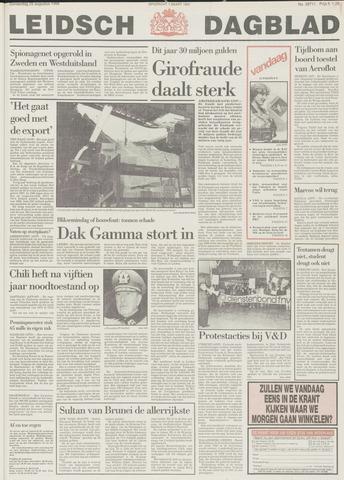 Leidsch Dagblad 1988-08-25