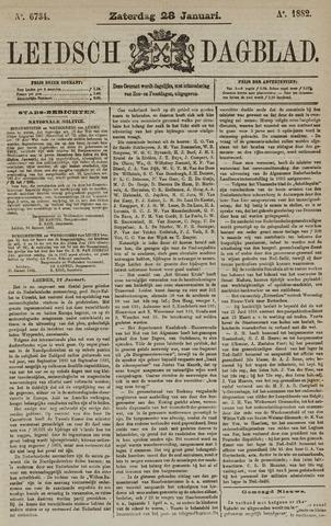Leidsch Dagblad 1882-01-28