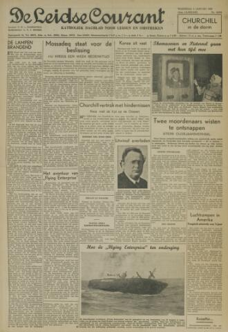 Leidse Courant 1952