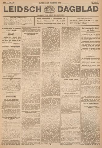 Leidsch Dagblad 1928-12-29