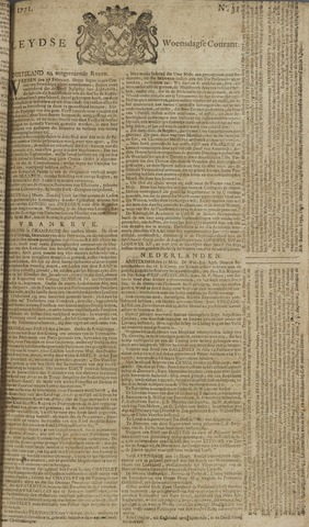 Leydse Courant 1771-03-13