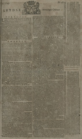 Leydse Courant 1743-04-22