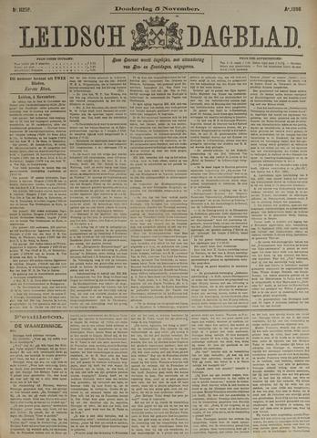 Leidsch Dagblad 1896-11-05