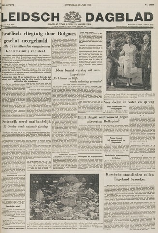 Leidsch Dagblad 1955-07-28