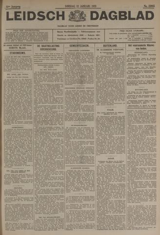 Leidsch Dagblad 1935-01-22