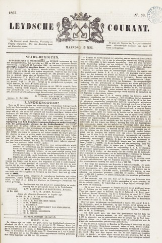 Leydse Courant 1865-05-15