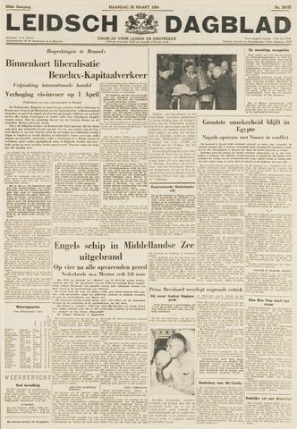 Leidsch Dagblad 1954-03-29