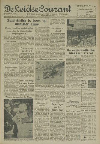 Leidse Courant 1960-01-12