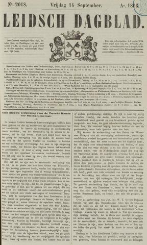 Leidsch Dagblad 1866-09-14