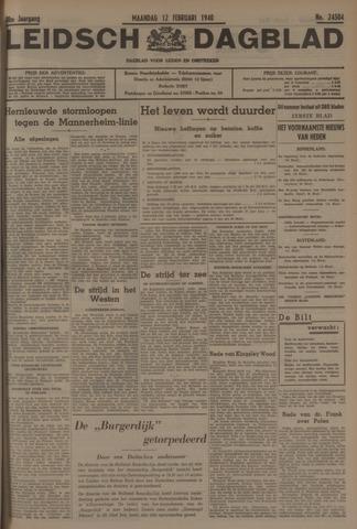 Leidsch Dagblad 1940-02-12