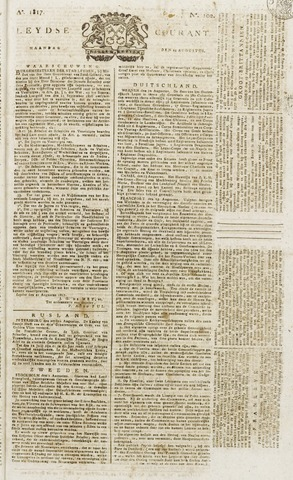 Leydse Courant 1817-08-25