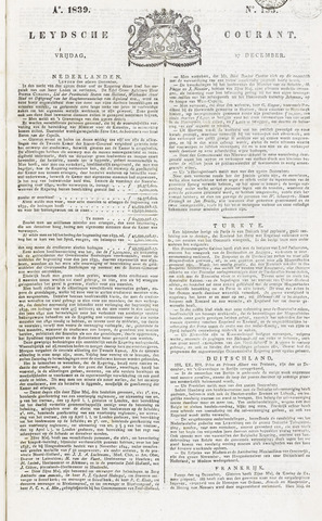 Leydse Courant 1839-12-27