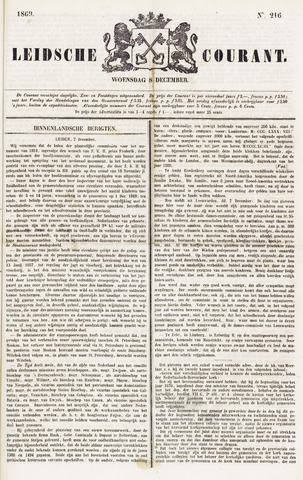 Leydse Courant 1869-12-08