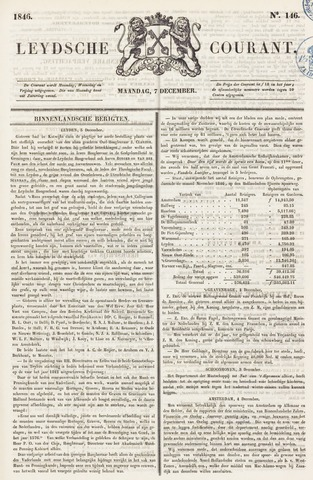 Leydse Courant 1846-12-07