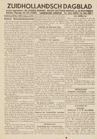 Zuidhollandsch Dagblad 1944-11-30