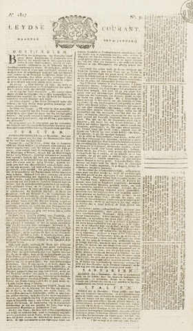 Leydse Courant 1817-01-20