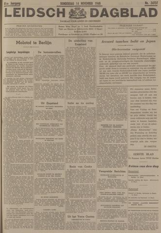 Leidsch Dagblad 1940-11-14