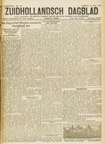 Zuidhollandsch Dagblad 1944-06-16