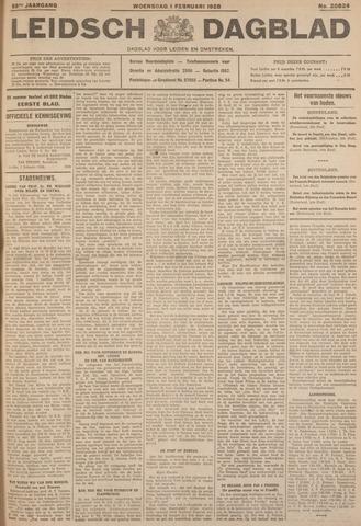 Leidsch Dagblad 1928-02-01