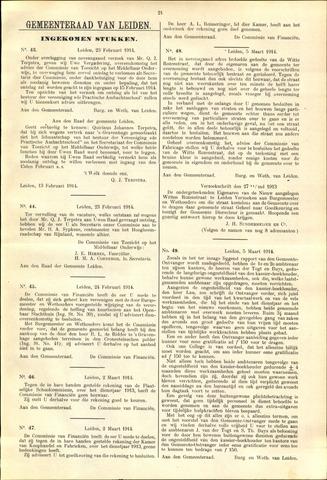 Handelingen van de Raad 1914-02-23